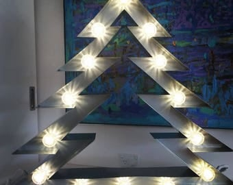 Marquee Light Christmas Tree