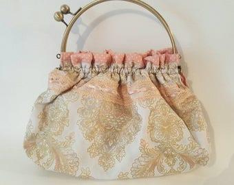 Pastel Paisley Vintage Inspired Purse/Handbag