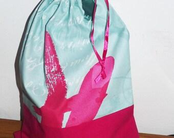 bag/pouch underwear/shoes/slippers dance/snack green Mint/pink fuschia
