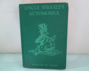 Uncle Wiggily's Automobile by Howard Garis  from 1939