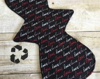 Reusable Cloth Pad/Regular/Moderate 12 inch-LOVE