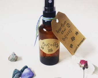 Bug Off Insect Repellent - Natural Insect Repellent - Insect Away Spray - Aromatherapy Elixir