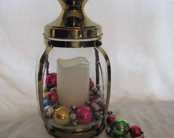 Brass Lantern Decor Candle Holder Wedding Centerpiece