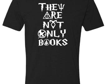 They Are Not Only Books Tee