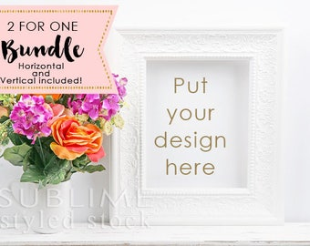 Styled Stock Photography / Blank Frame Mockup / Mockup / Wall Art Display / Empty Frame / Mock up Frame / Print Display / StockStyle-867