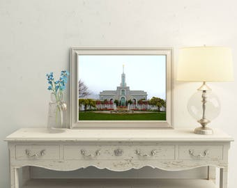 Mount Timpanogos LDS Temple // You Get 5 Sizes // Instant Digital Download