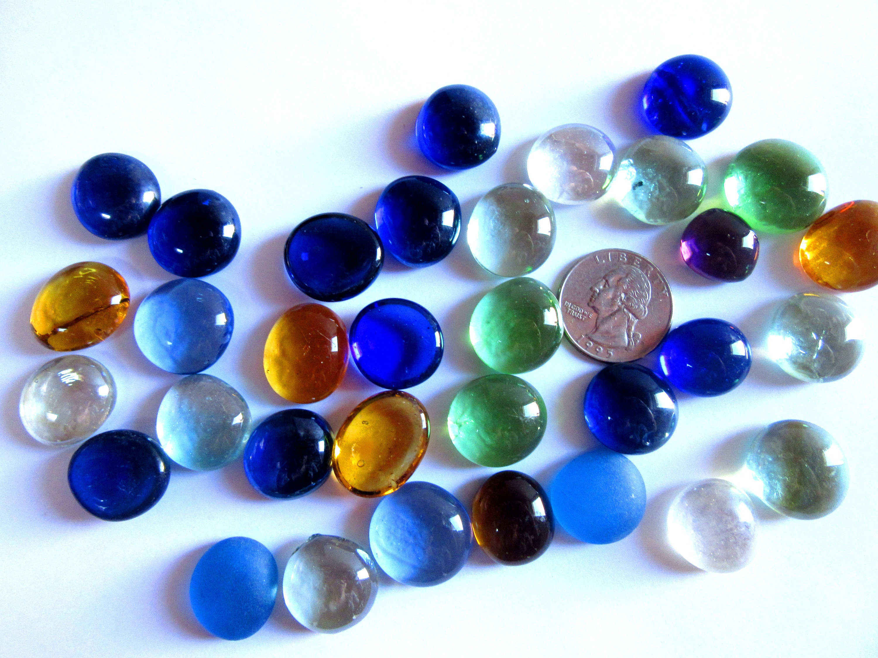 50 colorful glass gems glass flat marbles round mosaic tiles 50 colorful glass gems glass flat marbles round mosaic tiles round glass pieces vase fillers decor marbles glass cabochons glass mix reviewsmspy