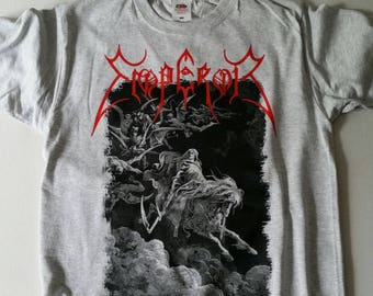 Emperor T-SHIRT Rider // S-XXL // Gustave Dore Wrath Of The Tyrant Black Metal