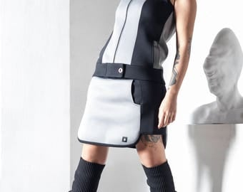 Set of Neoprene Vest and Skirt.