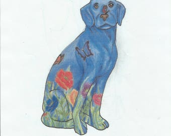 Poppy Dog by Gazal M. (student sponsorship)