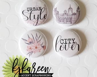 "Badge 1 ""- City Lover"