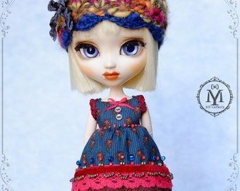 "Pullip Set ""Oriental Fairy-tale"". Shorts, Shirt, Hat, Stockings"