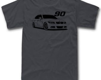 Τ Shirt Design For BMW Ε90 E92 Fans M3 316i 318i 320i 325i 335i Classic