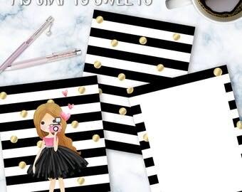 Cute Girl Planner Cover