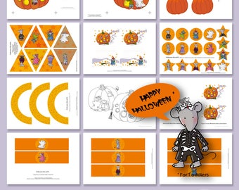 candy bar halloween halloween decor decor printable halloween decoration halloween kit kit