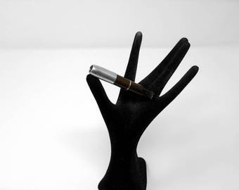 fabulous vintage fume cigarette , cigarette holder 1960 galalith carved made in france rare