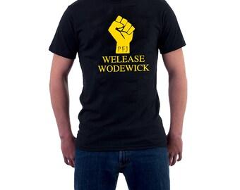 4XL, 5XL Welease Wodewick T-shirt Monty Python Life of Brian Tribute Parody. Funny Cotton Tee.