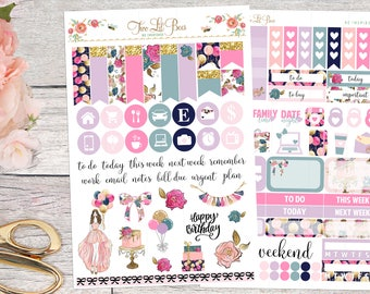 Birthday Girl - Decorating Kit (Vertical Layout)