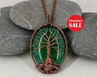 Tree-of-life pendant Tree-of-life necklace Wire wrapped jewelry Boho necklace Daughter gift-for-sister gift-for-Mother day gift-for-mom gift