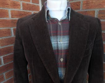 Austen Reed Corduroy blazer early 1980s Chest 40R