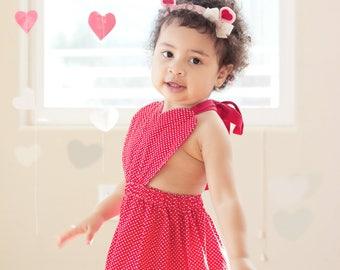 girl valentine dress etsy - Girls Valentine Dress