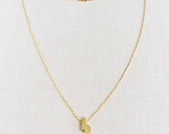 Bunny Necklace, Rabbit Jewelry, Bunny Jewelry, Bunny, Rabbit, Hare Jewelry, Hare, Bunny Rabbit Jewelry, Bunny Rabbit, Bunny Lover, GPN27