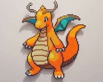 Pokemon Dragonite perler