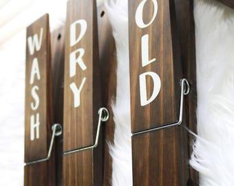 Laundry Room Decor Sign Farmhouse Wood