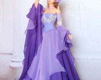 "Iplehouse EID ""Queen Titania"" lavender fairy dress set"