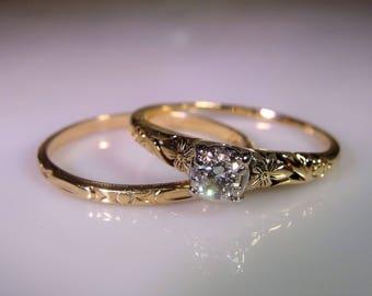 Vintage Halo Engagement Rings Uk