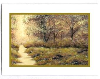Golden Creek Card