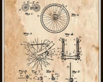 Bicycle Shock Absorber Patent #1,000,115 dated August 8, 1911.