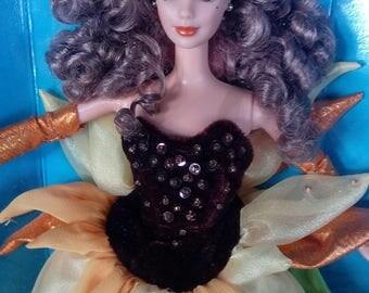 Mattel Van Gogh Sunflower Barbie Doll Vintage Barbie Doll