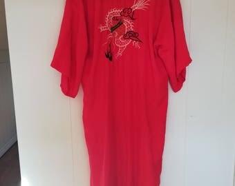 Vintage Oriental Dragon Robe