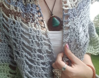 Gapped Crochet Shrug *Made to Order*