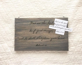 Wooden Handwriting Gift Sign | Handwriting Wooden Sign | Loved Ones Handwriting Sign | Handwriting Personalized Gift | Handwritten Sign