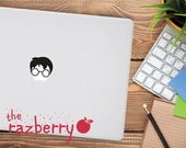 Turn your Macbook into a Wizard Decal Sticker Macbook Sticker Macbook Pro Sticker Laptop Decal Sticker Hogwarts Macbook Decal Potter