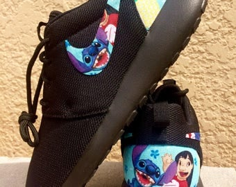 Lilo and Stitch custom Nike Roshe