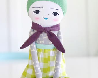 Lucy- Green Radcliffe Doll