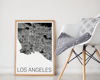 Los Angeles Map/Los Angeles Print/Los Angeles Art/Los Angeles Map Art/Los Angeles Poster/LA Map/LA Print/LA Poster/Los Angeles Map Print/Map