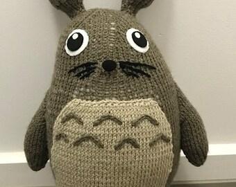 My Neighbour Totoro Knitting Pattern PDF