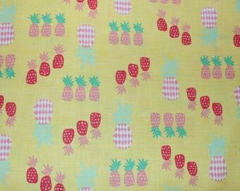 Timeless Treasures, Beach, Yellow, Cotton woven fabric, 1/2 yard