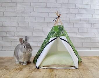 tipis pour animaux de compagnie chat chien par hiptepeehooray. Black Bedroom Furniture Sets. Home Design Ideas