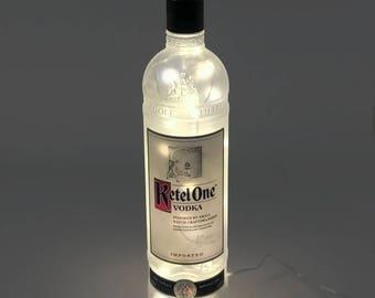 Ketel One Vodka Bottle Lamp / Vodka / Gifts for Men /  Gift Ideas