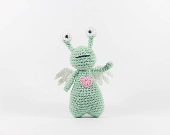 Crochet Amigurumi Pattern - Amor the Monster
