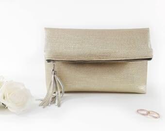 Bridal party gift Personalized bridal bag Bridesmaid proposal Gift for bridesmaid Monogram clutch bag Custom bridesmaid gifts Bridesmaid bag