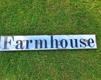 Farmhouse Sign - Farmhouse Wall Decor - Fixer Upper Wall Decor - Farmhouse Kitchen Sign - Farm House Sign - Farmhouse Decor