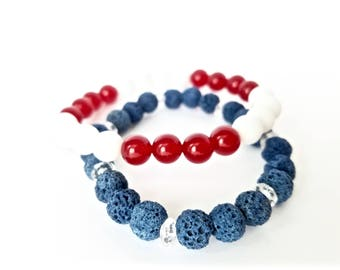 Independence Stack - Red, White, & Blue - Stack of 2