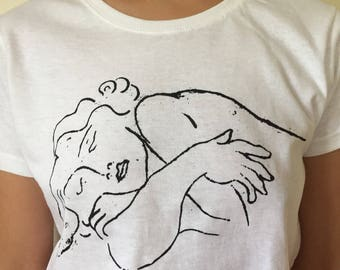 "Matisse ""Sleeping"" Tee"
