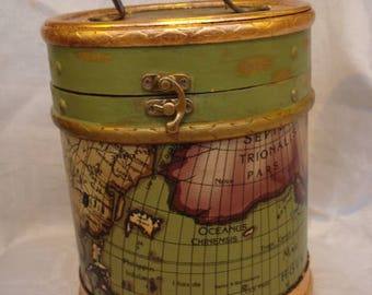 Vintage Casket Style Box